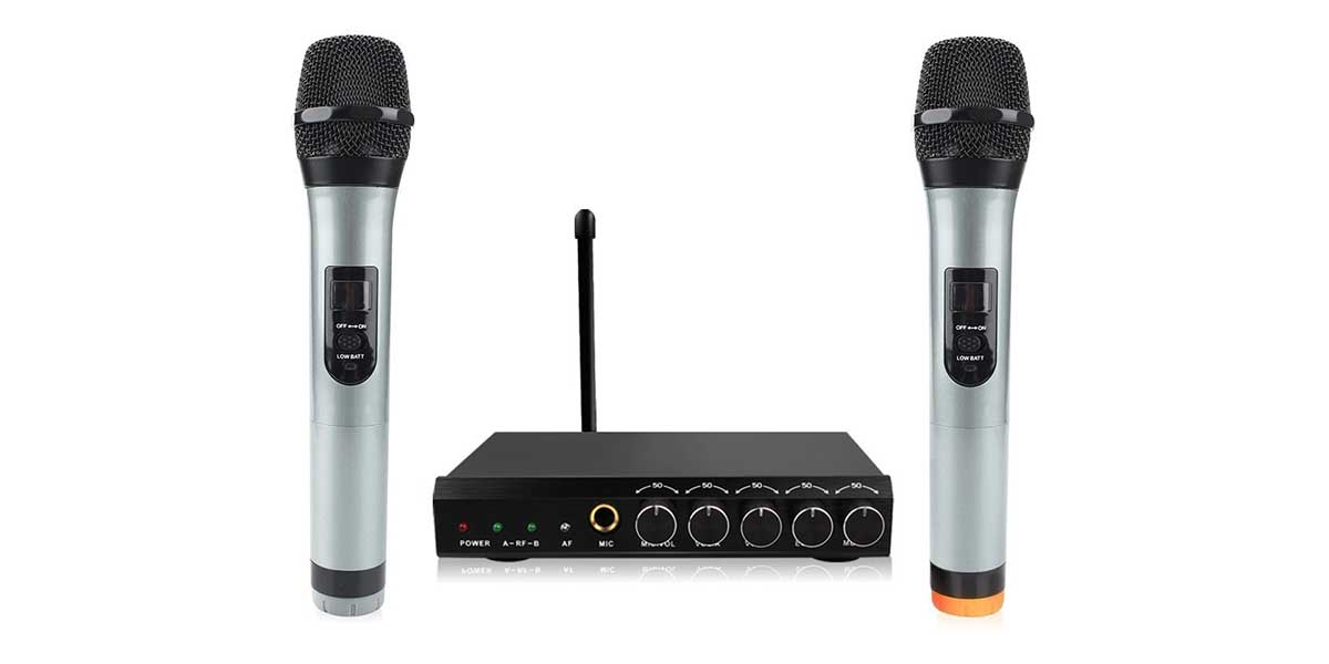 best karaoke amplifier mixer